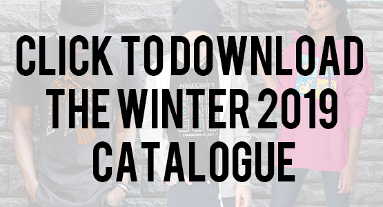 Megarom Merchandise Winter Catalogue 2019
